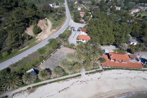 Seafront Land of 22 acres in Sithonia Halkidiki Ideal for Building a Hotel. Beachfront land Halkidiki Greece 4