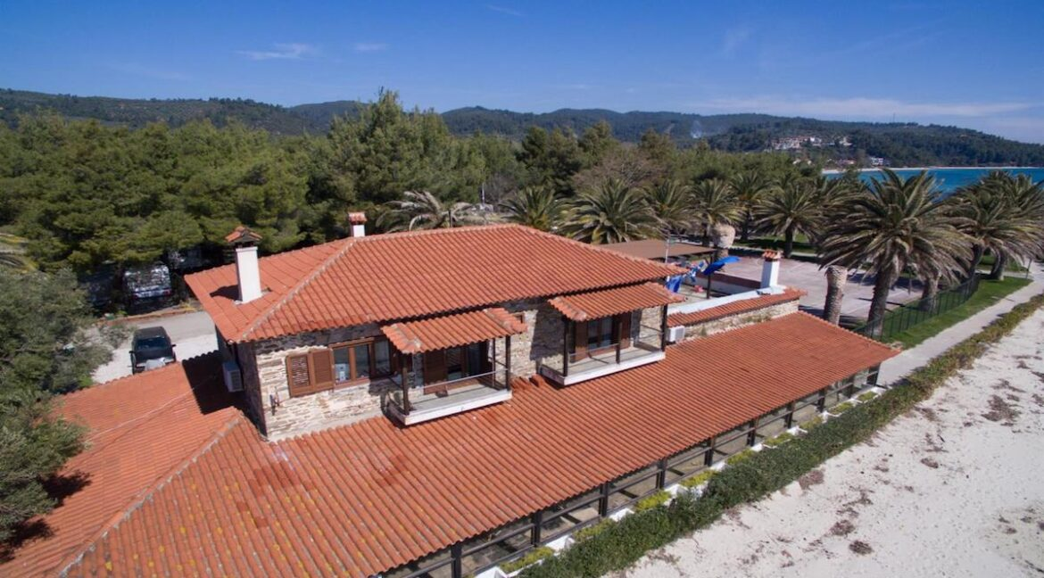 Seafront Land of 22 acres in Sithonia Halkidiki Ideal for Building a Hotel. Beachfront land Halkidiki Greece 6