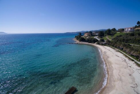Seafront Land of 22 acres in Sithonia Halkidiki Ideal for Building a Hotel. Beachfront land Halkidiki Greece 7