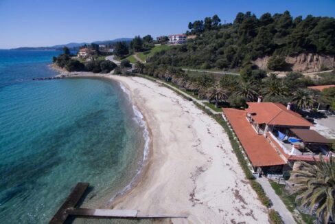 Seafront Land of 22 acres in Sithonia Halkidiki Ideal for Building a Hotel. Beachfront land Halkidiki Greece 8
