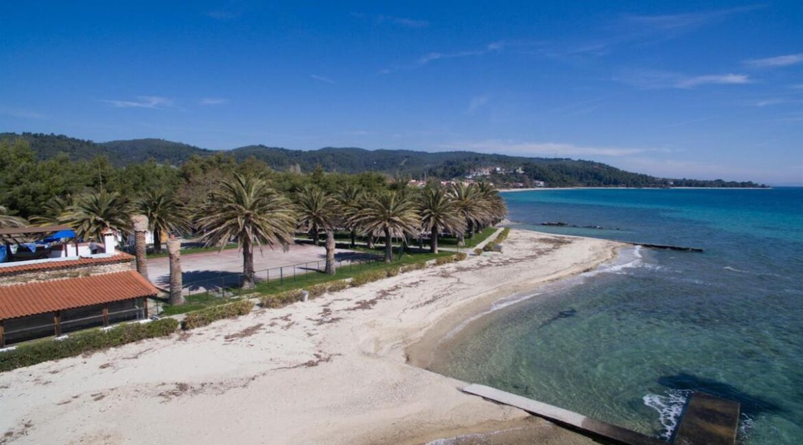 Seafront Land of 22 acres in Sithonia Halkidiki Ideal for Building a Hotel. Beachfront land Halkidiki Greece 9