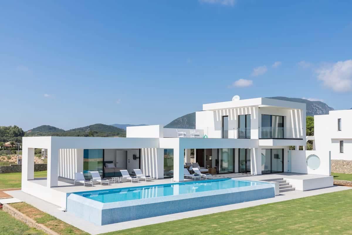 Seafront Villa Corfu Greece, Halikounas