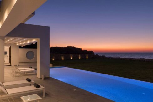 Seafront Villa Corfu Greece for sale. Corfu Luxury Properties for sale 5