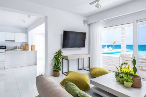 Seafront Villa for Sale Paros Greece, Beachfront Property Paros Cyclades 17