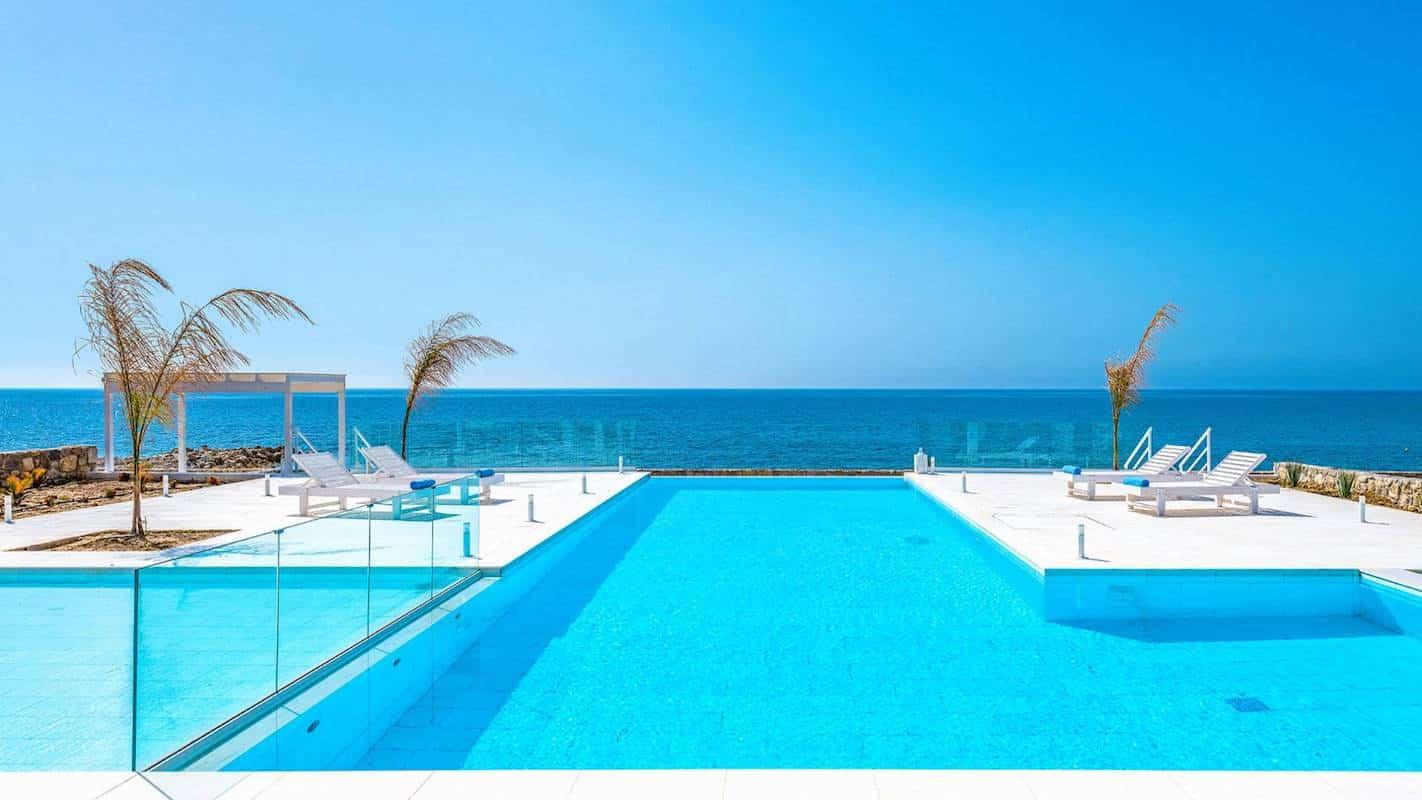 Seafront Villa for Sale Rhodes Greece, Beachfront Property Rodos island