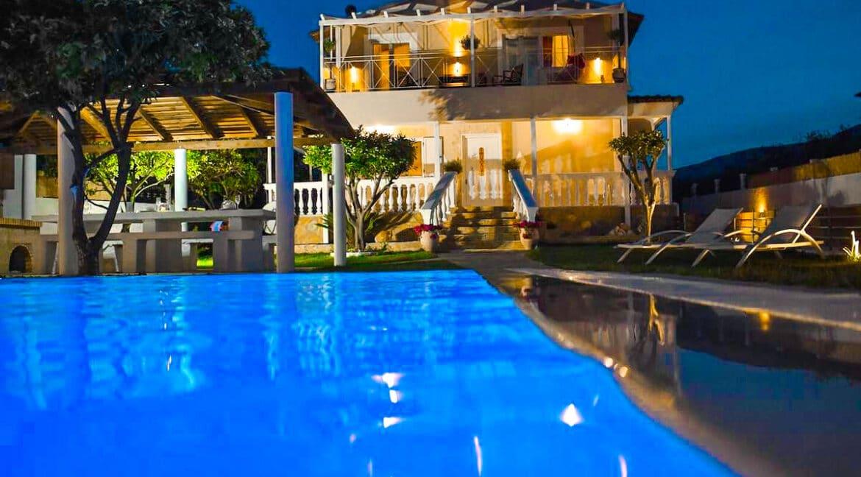 Corfu villa for sale, Corfu Property with sea View and pool 20