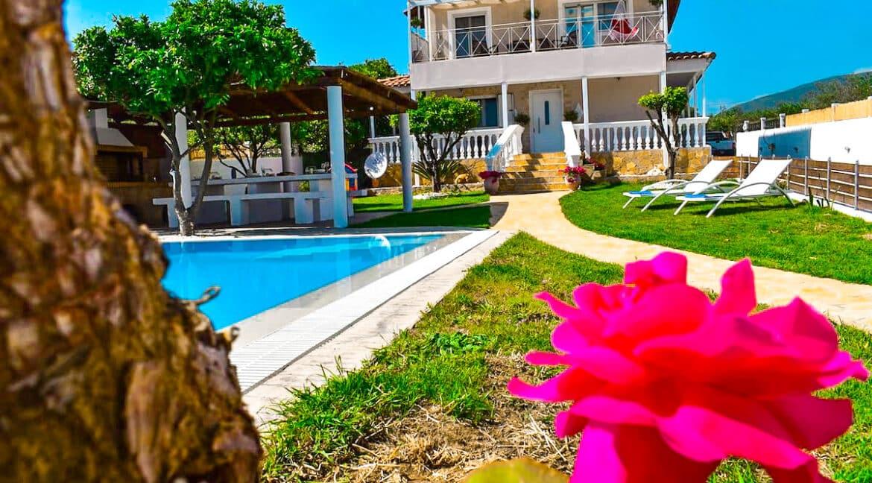 Corfu villa for sale, Corfu Property with sea View and pool 28