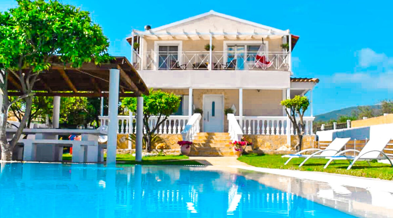 Corfu villa for sale, Corfu Property with sea View and pool