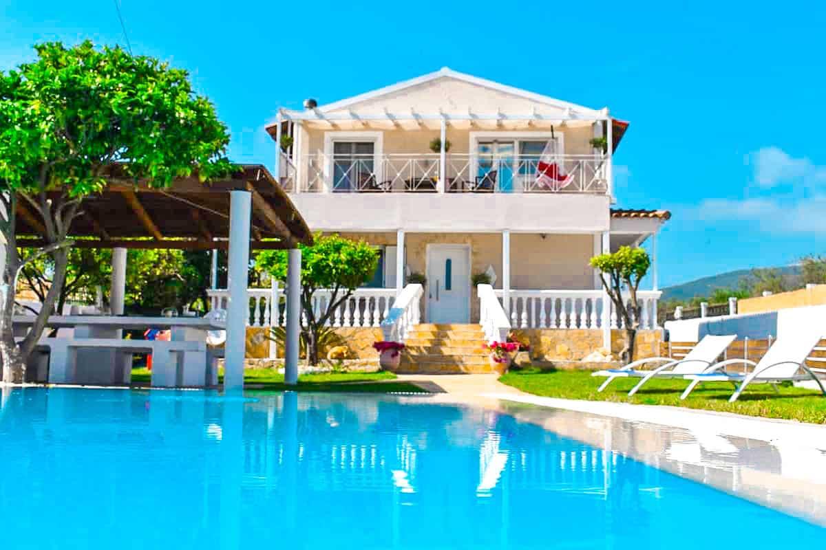 Corfu villa for sale, Halikounas