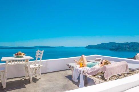 Luxury Caldera Suite Oia Santorini Greece for sale. Santorini Properties