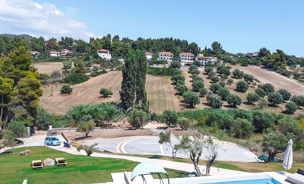 Mansion with helipad in Halkidiki Greece, Luxury Estate in Chalkidiki Greece for sale 1