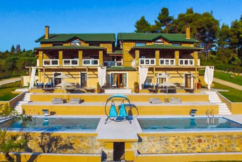 Mansion with helipad in Halkidiki Greece, Luxury Estate in Chalkidiki Greece for sale 20