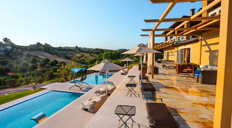 Mansion with helipad in Halkidiki Greece, Luxury Estate in Chalkidiki Greece for sale 23