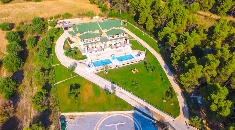 Mansion with helipad in Halkidiki Greece, Luxury Estate in Chalkidiki Greece for sale 24