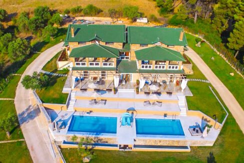Mansion with helipad in Halkidiki Greece, Luxury Estate in Chalkidiki Greece for sale 38