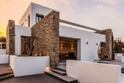 New Luxury Villa Paros Greece For Sale in Santa Maria. Paros Luxury Homes for sale 10