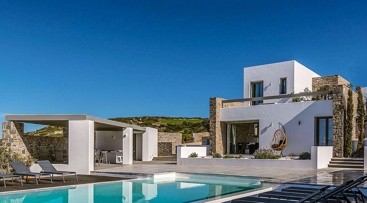 New Luxury Villa Paros Greece For Sale in Santa Maria. Paros Luxury Homes for sale 15