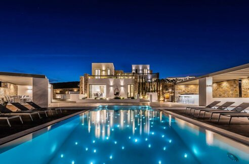 New Luxury Villa Paros Greece For Sale in Santa Maria. Paros Luxury Homes for sale