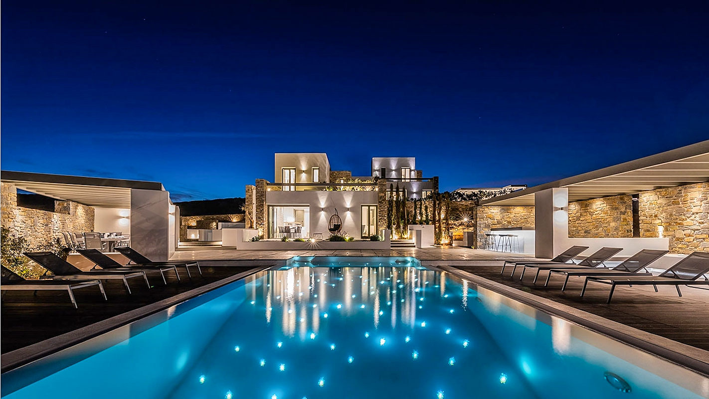 New Luxury Villa Paros Greece, Santa Maria