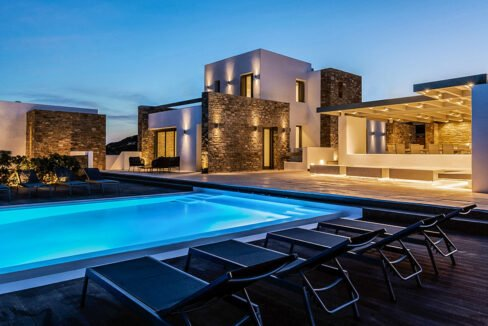 New Luxury Villa Paros Greece For Sale in Santa Maria. Paros Luxury Homes for sale 19