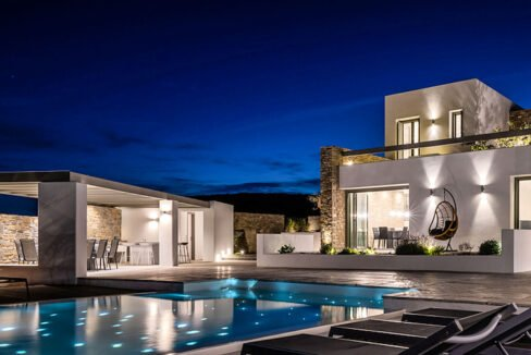 New Luxury Villa Paros Greece For Sale in Santa Maria. Paros Luxury Homes for sale 20
