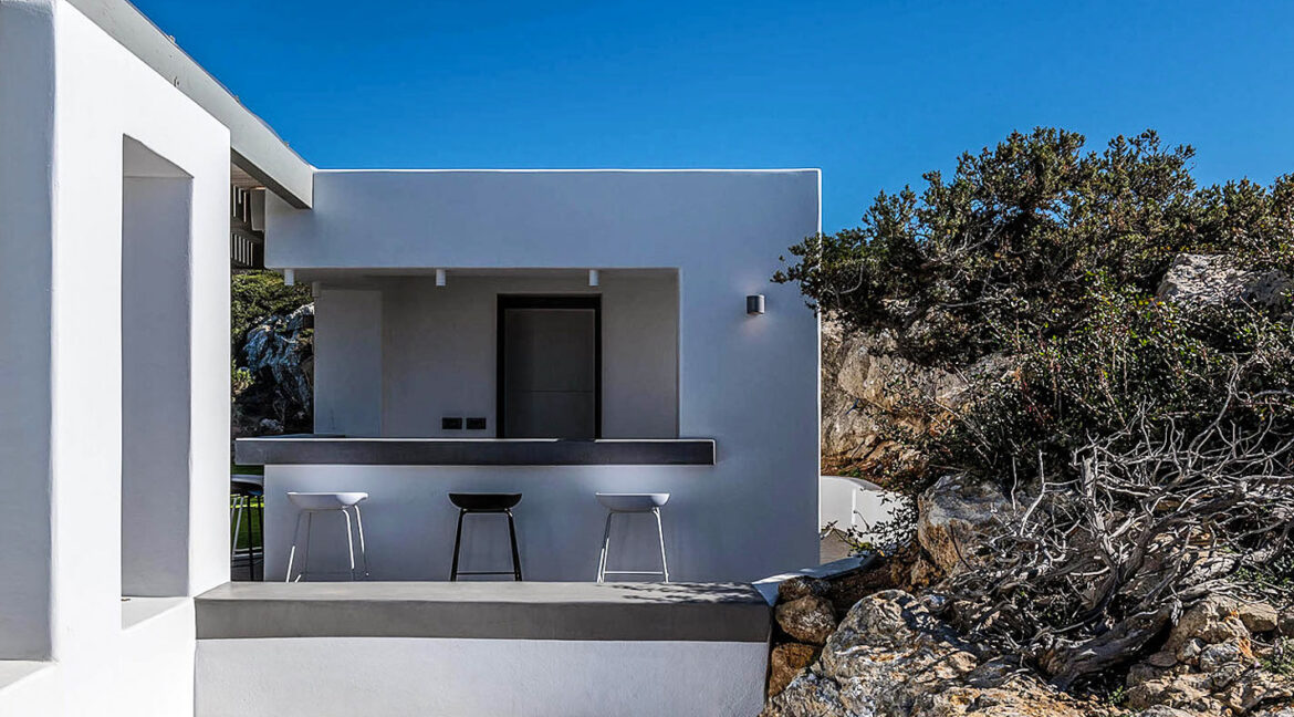 New Luxury Villa Paros Greece For Sale in Santa Maria. Paros Luxury Homes for sale 4