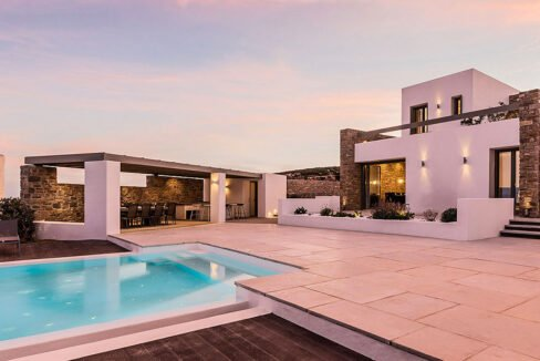 New Luxury Villa Paros Greece For Sale in Santa Maria. Paros Luxury Homes for sale 5