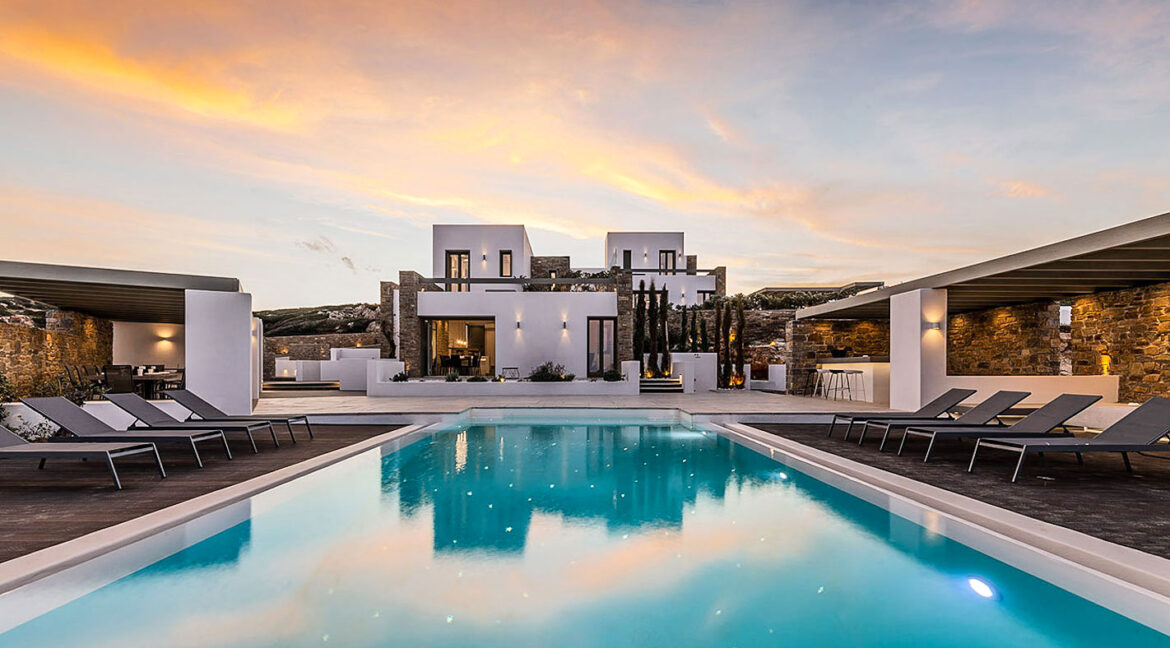 New Luxury Villa Paros Greece For Sale in Santa Maria. Paros Luxury Homes for sale 7