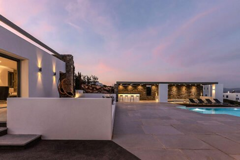 New Luxury Villa Paros Greece For Sale in Santa Maria. Paros Luxury Homes for sale 8
