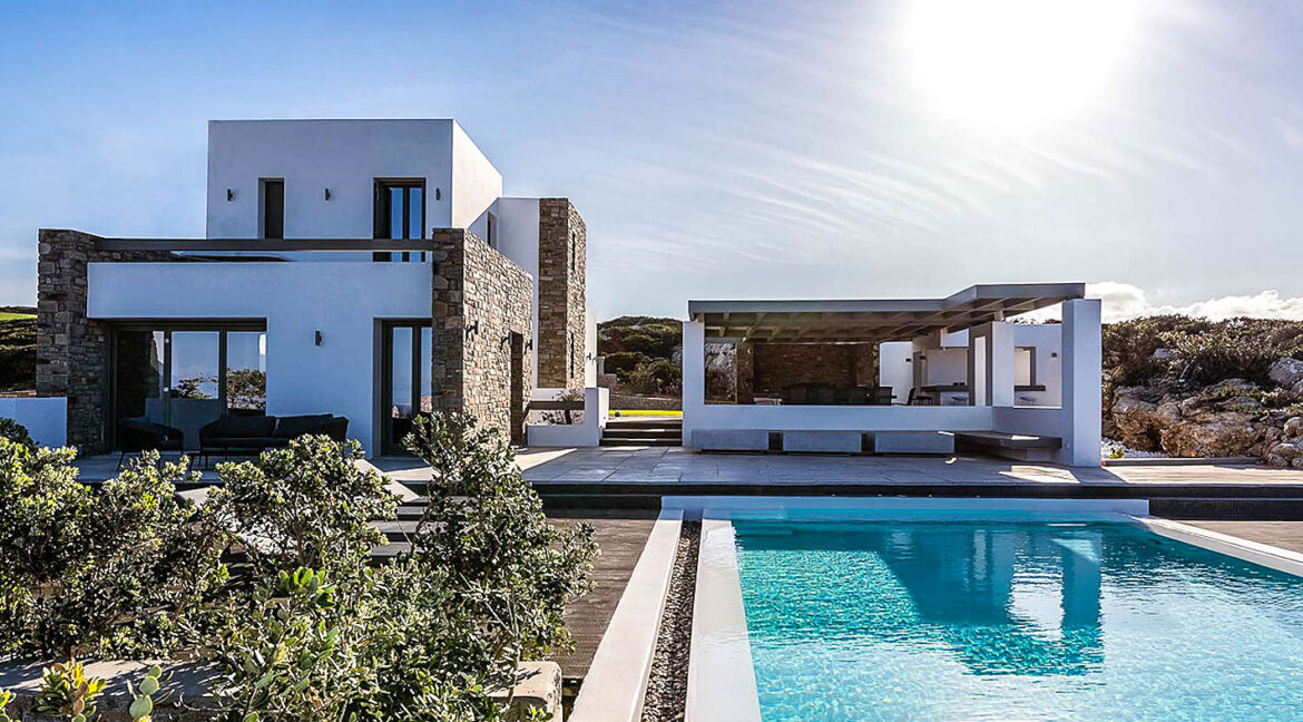 New Luxury Villa Paros Greece For Sale in Santa Maria. Paros Luxury Homes for sale 9