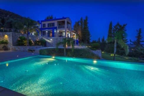 Sea View Villa East Corfu Greece For Sale, Corfu Villas for sale 1