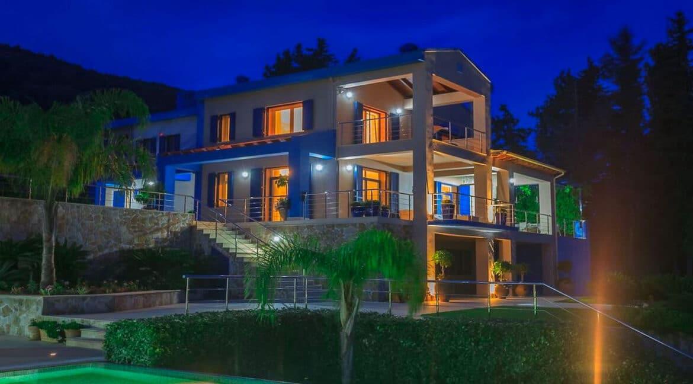 Sea View Villa East Corfu Greece For Sale, Corfu Villas for sale 10
