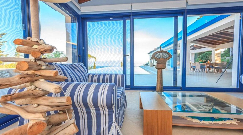 Sea View Villa East Corfu Greece For Sale, Corfu Villas for sale 13