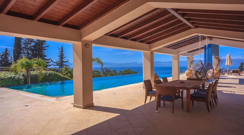 Sea View Villa East Corfu Greece For Sale, Corfu Villas for sale 14
