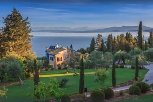 Sea View Villa East Corfu Greece For Sale, Corfu Villas for sale 2