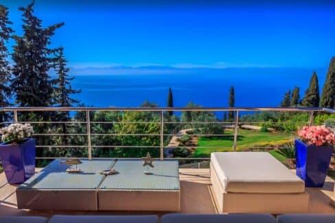 Sea View Villa East Corfu Greece For Sale, Corfu Villas for sale 5