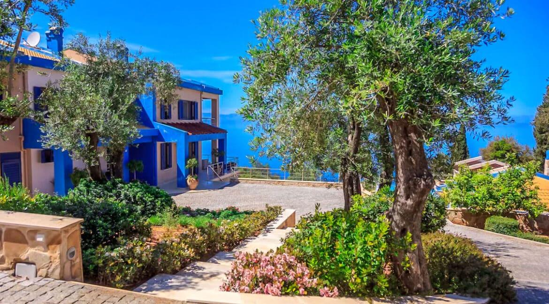 Sea View Villa East Corfu Greece For Sale, Corfu Villas for sale 6