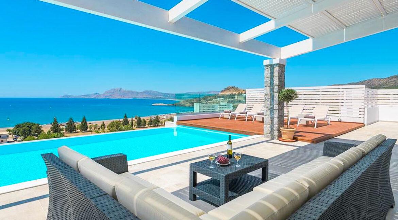 Sea View Villa Lindos Rhodes Greece For Sale, Properties Rodos Greece 13