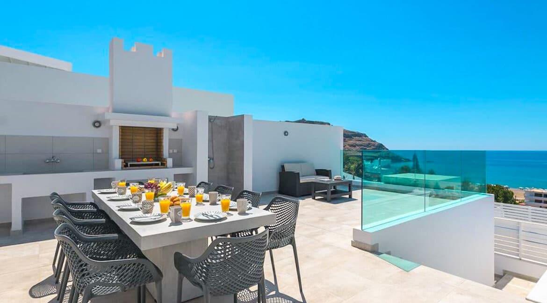 Sea View Villa Lindos Rhodes Greece For Sale, Properties Rodos Greece 15