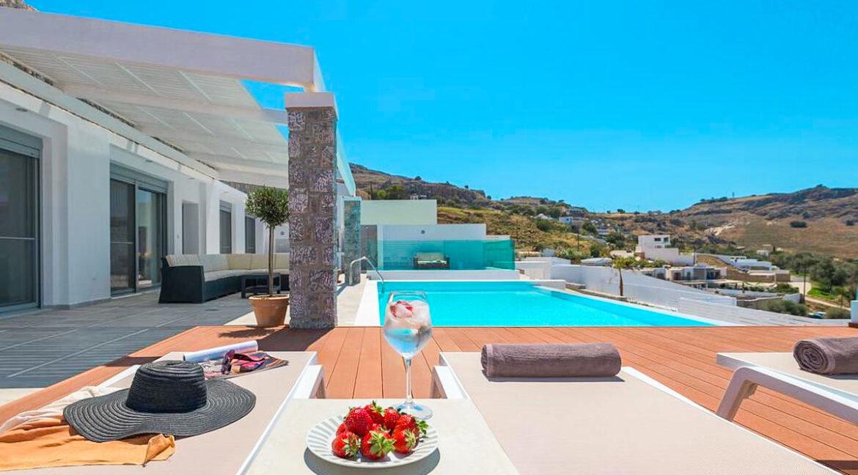 Sea View Villa Lindos Rhodes Greece For Sale, Properties Rodos Greece 16