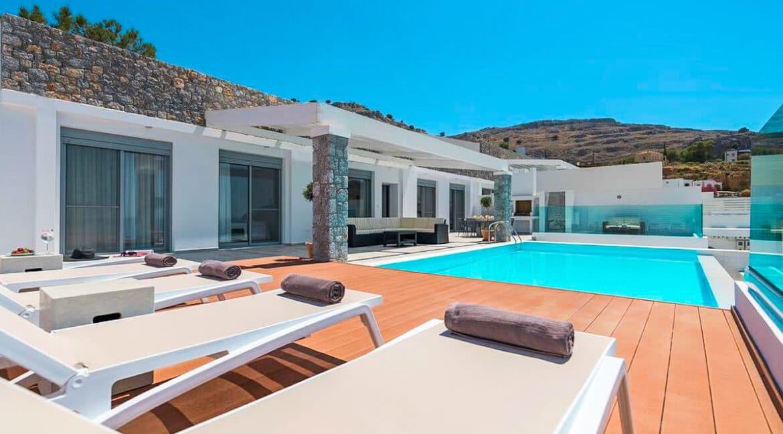 Sea View Villa Lindos Rhodes Greece For Sale, Properties Rodos Greece 18