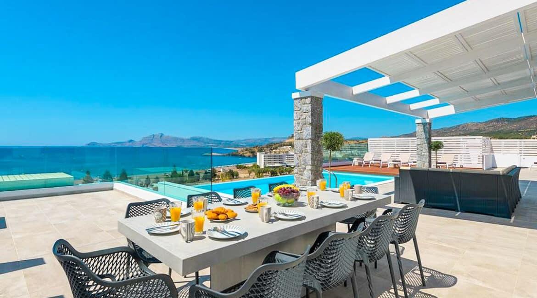 Sea View Villa Lindos Rhodes Greece For Sale, Properties Rodos Greece 20