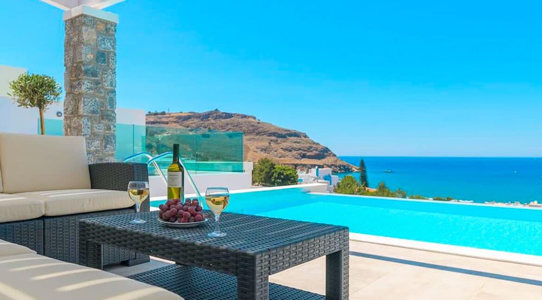 Sea View Villa Lindos Rhodes Greece For Sale, Properties Rodos Greece 21