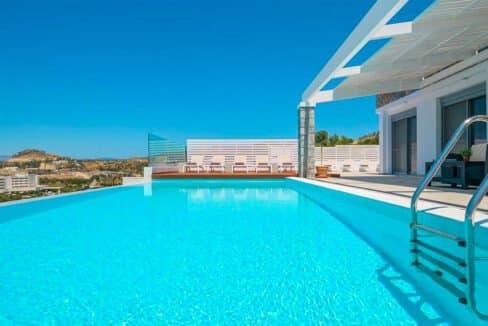 Sea View Villa Lindos Rhodes Greece For Sale, Properties Rodos Greece 22
