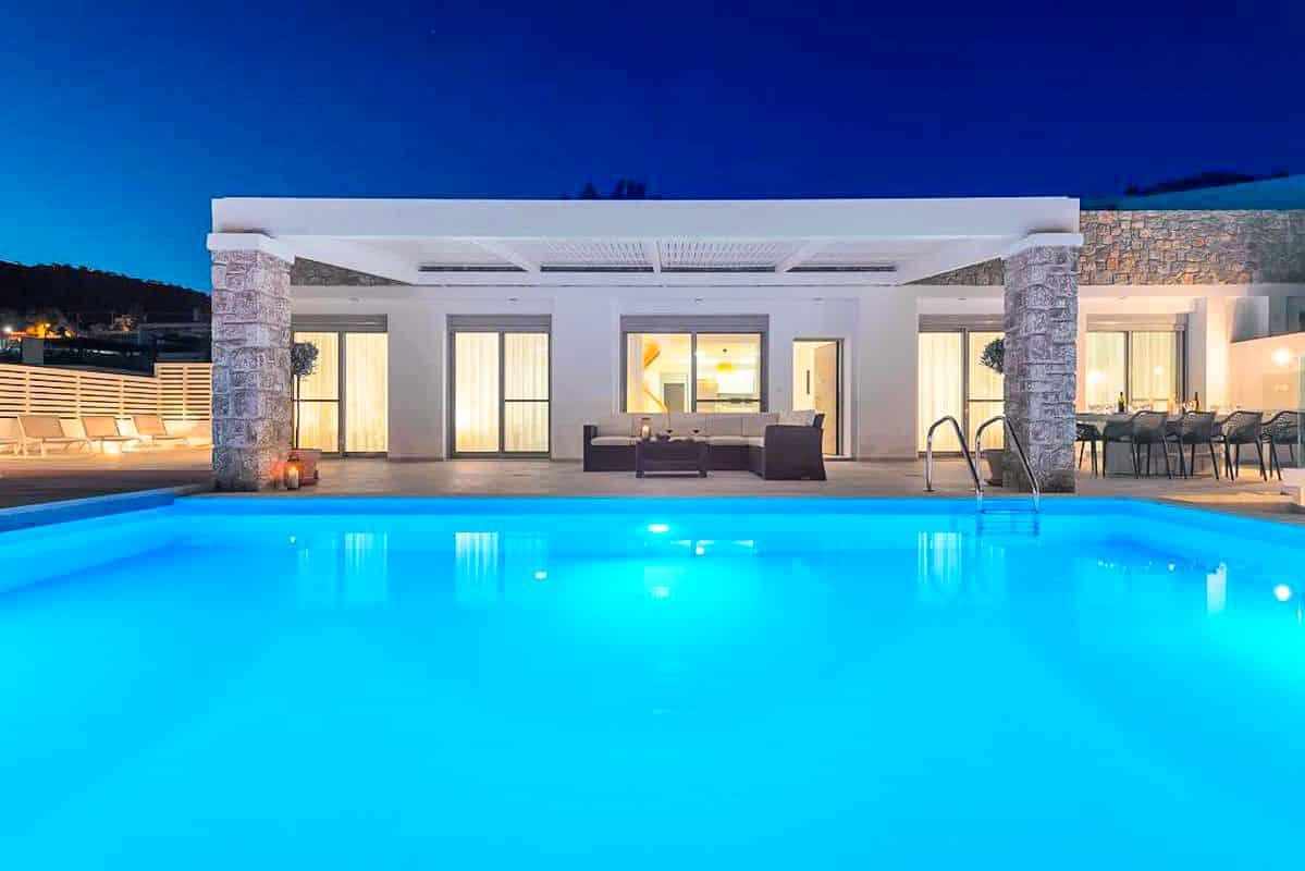 Sea View Villa Lindos Rhodes