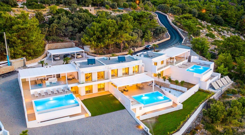 Sea View Villa Lindos Rhodes Greece For Sale, Properties Rodos Greece 28