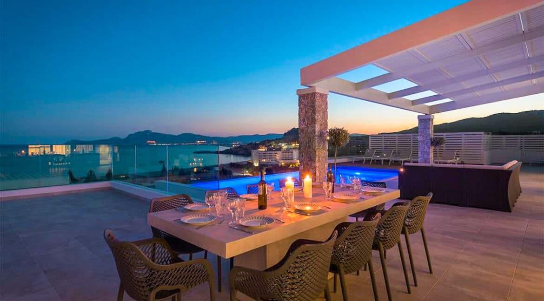 Sea View Villa Lindos Rhodes Greece For Sale, Properties Rodos Greece 29