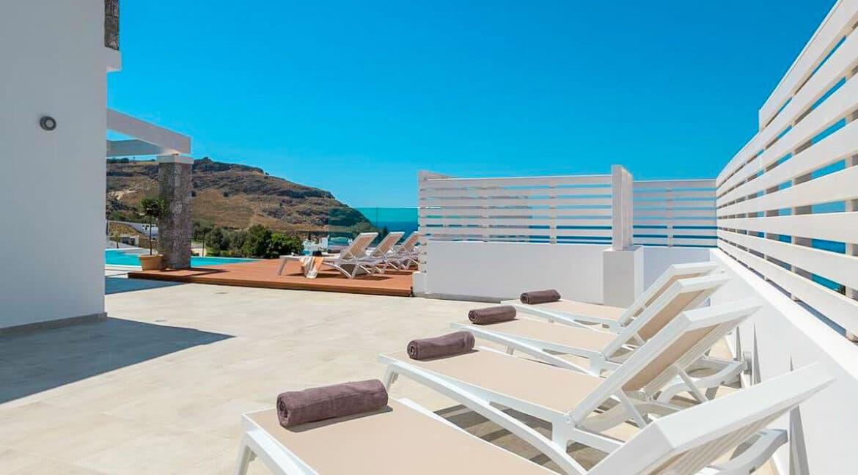 Sea View Villa Lindos Rhodes Greece For Sale, Properties Rodos Greece 3