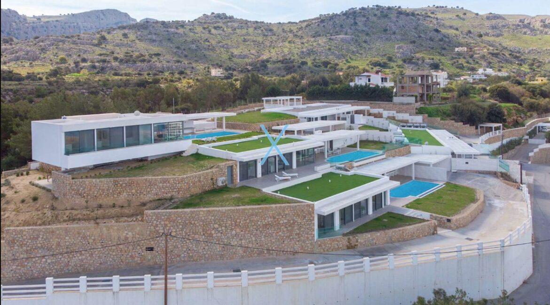 Sea View Villas Rhodes Greece, Lindos. Luxury Properties for Sale Rodos Greece 1
