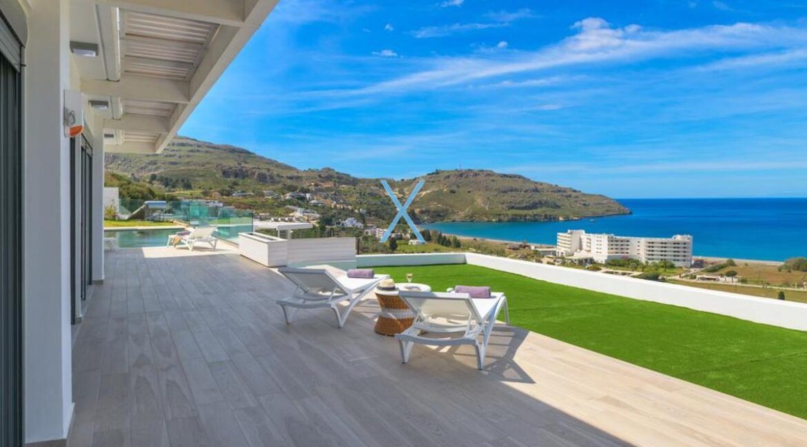 Sea View Villas Rhodes Greece, Lindos. Luxury Properties for Sale Rodos Greece